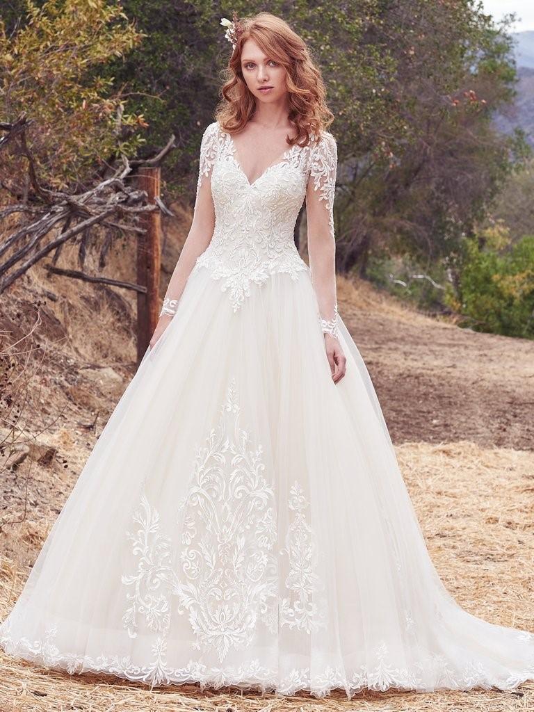 Genoeg Benieuwd naar de trends voor bruidsjurken in 2018? Lees het nu... #OI03