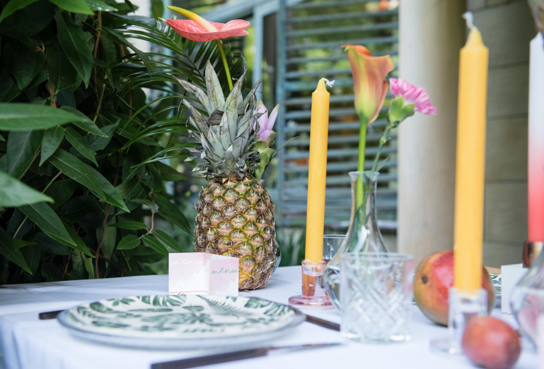Ananas tafelstyling