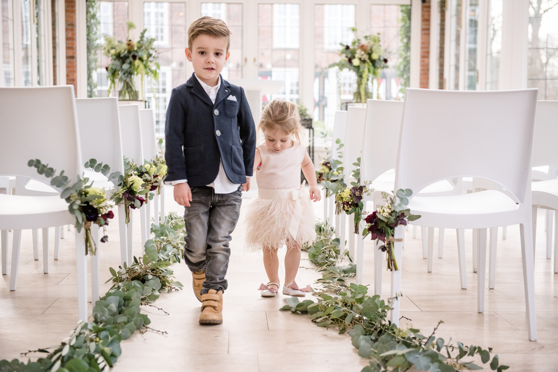 aankleding bruiloft