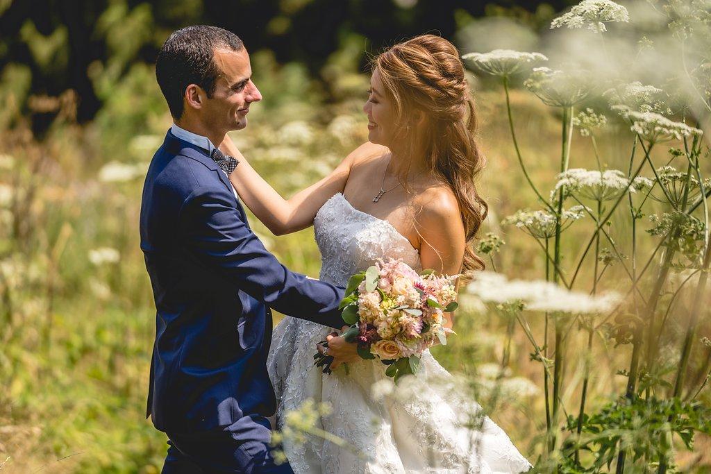 natuur bruiloft