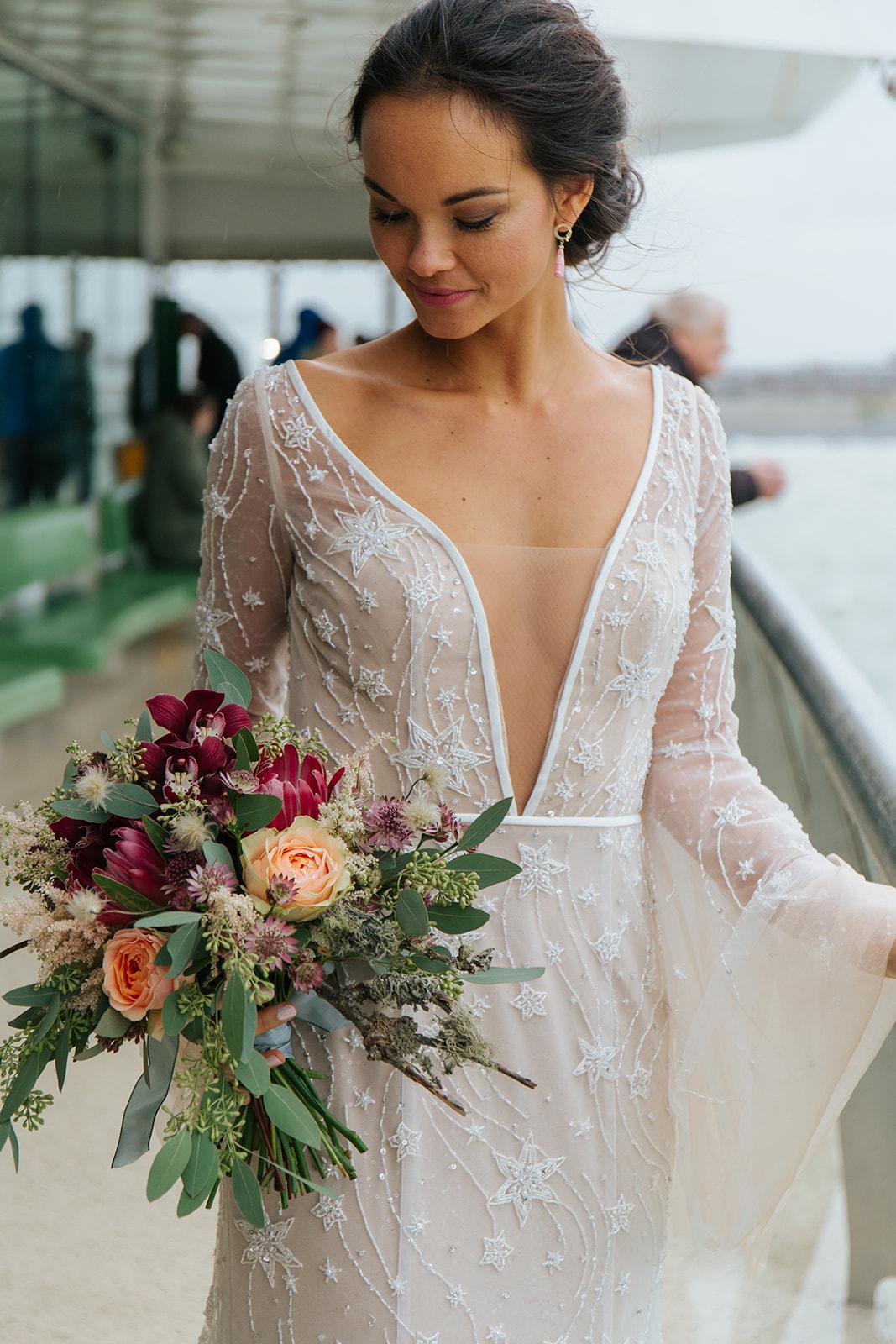 bruidsboeket trouwen texel