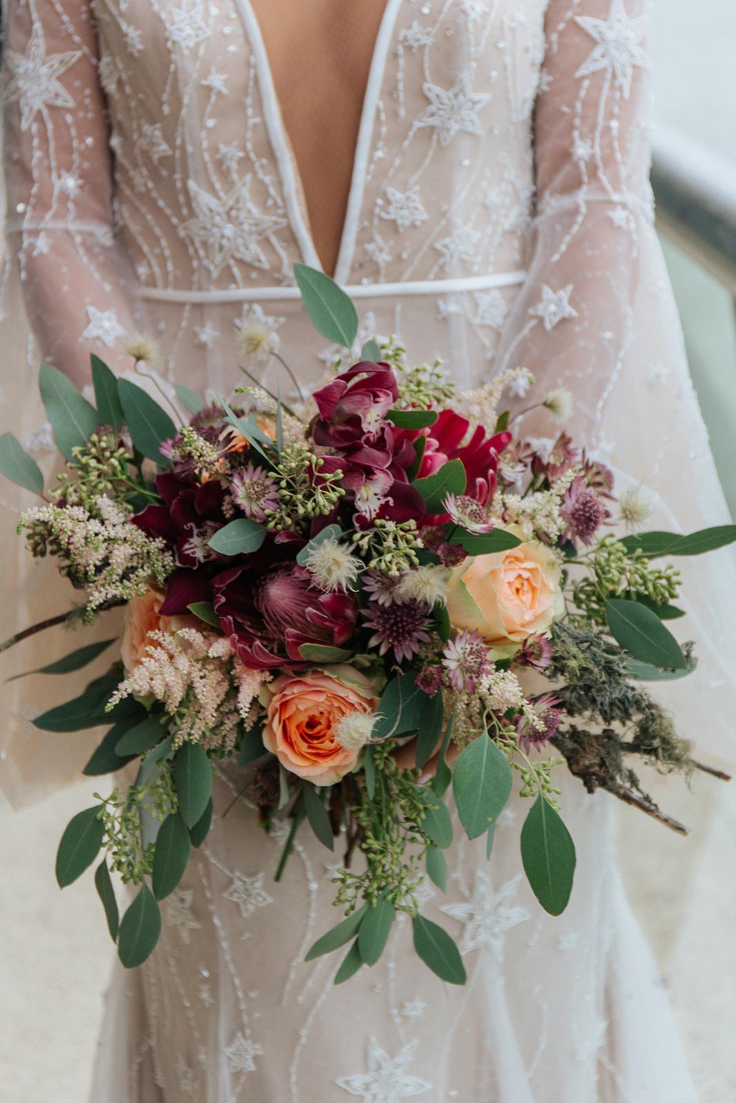 bruidsboeket bruiloft texel
