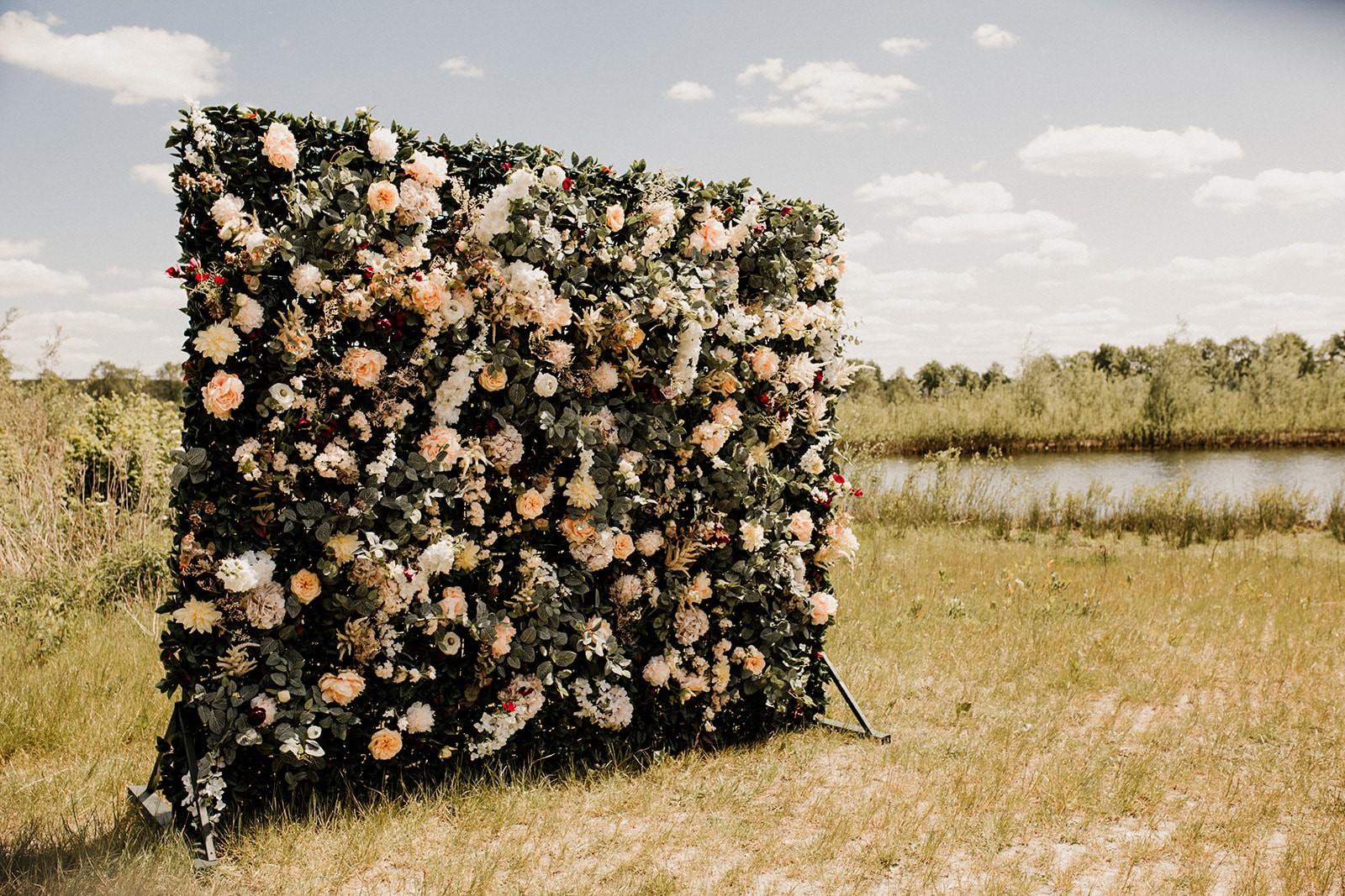 bloemenwand